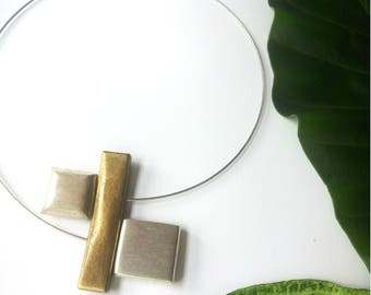 Contemporary Necklace Minimalist Jewelry
