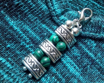 Pendant beads and antique silver Tibetan style