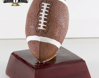 Color Football Resin Award - Football Trophy - Free Personalization