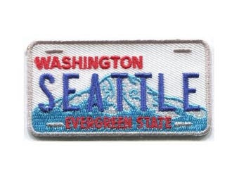 Seattle Patch - Washington State License Plate - Evergreen State