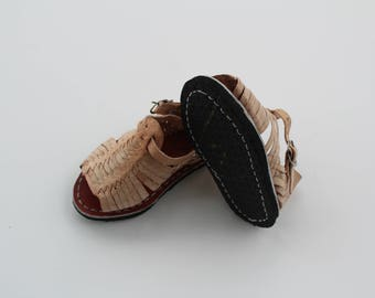 Sizes 2-5 (MX 12-14)Gender Neutral Huaraches for baby/toddler -Please choose your size