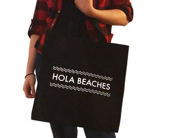 Hola Beaches Tote Bag/Purse