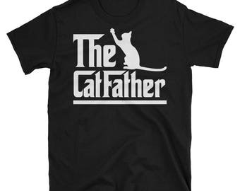 the cat father shirt funny cat lover tshirt Cat Dad Shirt Cat Lover Gift Cat Lover Shirt Gift for dad cat t shirts cat mom cats lover shirt