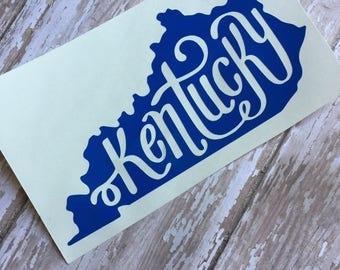 Kentucky State Decal