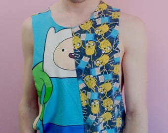 Adventure Time Finn & Jake Crop Top