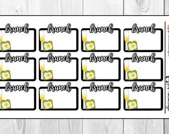 Brunch Planner Stickers