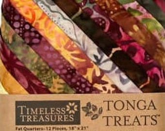 Timeless Treasures Tonga Treats Vineyard 12 Fat Quarters