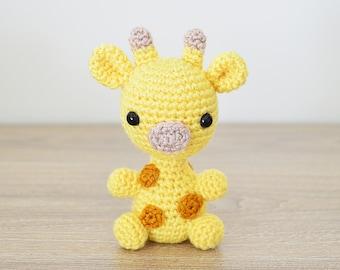 CROCHET PATTERN in English - Giraffe - Baby #1 - Babies Collection - Animal Amigurumi - Instant PDF Download