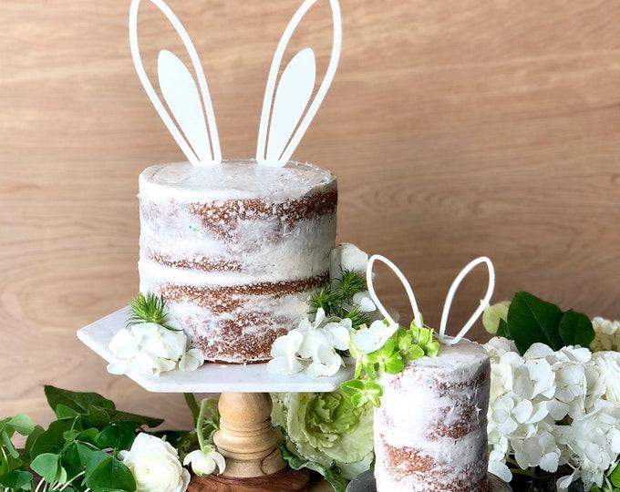 Bunny Ears Cake Topper