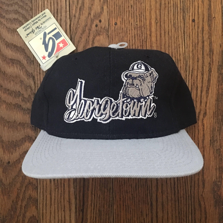 hot sale online 5fbcd 40c71 ... new zealand vintage 90s deadstock the game georgetown hoyas ncaa  snapback hat baseball cap 68ce4 96aa3