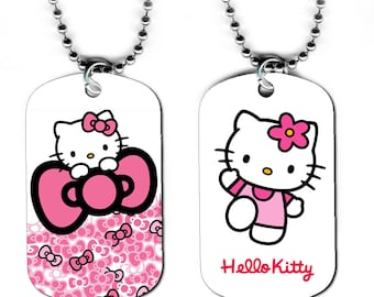 DOG TAG NECKLACE - Hello Kitty 1