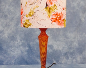 Table lamp in Decorated Ash