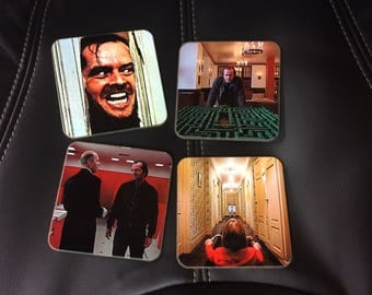 The Shining Coasters - Singles or Sets - Stanley Kubrick - Jack Nicholson - Horror Coasters