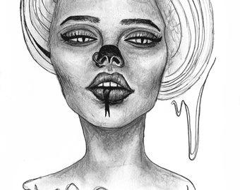 Kundalini Woman - Print 8.5x11