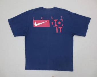 Nike Shirt Vintage Nike T 90s Nike Vintage Just Do It Relaxed T Mens Size M