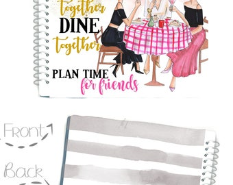 LADIES WHO LUNCH Stylish Planners, Monthly Planner, Social Girl Planner, Planner Girl, Cover Girl, Planner Organizer, Southern Lady