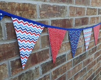 4th of July Flag Banner Patriotic Bunting