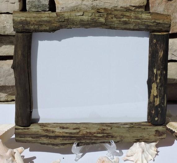 8x10 2032cmx254cm real driftwood frame bohemian beach style frankiesframeshop - Driftwood Picture Frames