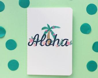 Aloha A6 lined notebook