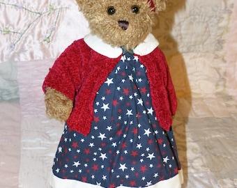 Bearington Teddy Bear Stars and Stripes - 1694