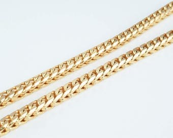 """18K Gold Filled Chain 23"""" Inch CG171"""