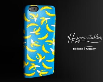 Banana Party Case iPhone 7 - iPhone SE - iPhone Plus - iPhone 6/6S - iPhone 5/5S - iPhone 5C - Samsung Galaxy S5 - S6 Edge, phone case