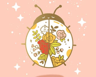 Lovebug PREORDER - hard enamel pin