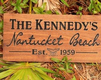 Beach House Sign Beach Sign Personalized Beach Sign Coastal Beach Whale Beach Signs Beach House Signs Outdoor Personalized Beach House Beach