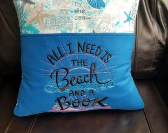 Beach Pillow/pocket pillow/bed pillow