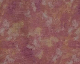Rosewater - Per Yd - Quilting Treasures -  Stucco Texture Rose Pink