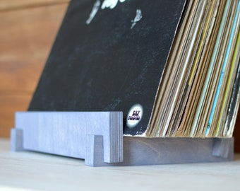 "12"" Vinyl Record Storage | Album Display | Vinyl LP Holder | Zero-VOC Natural Finish"