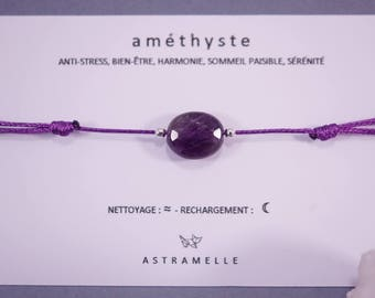 Greed Amethyst bracelet