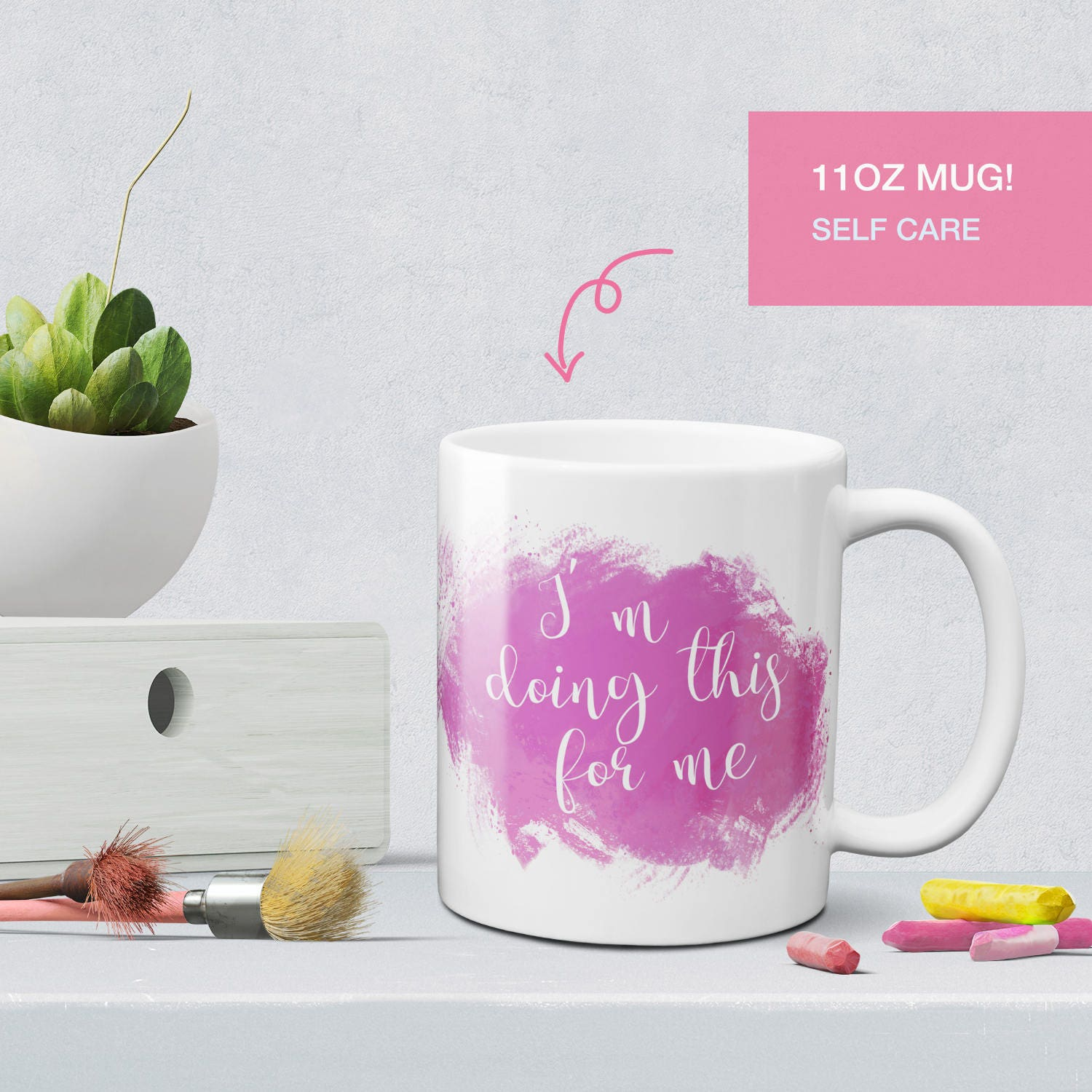 I M Doing This For Me Coffee Mug Best Friend Gift