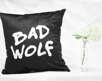 Doctor Who Bad Wolf Pillow 40 x 40 cm