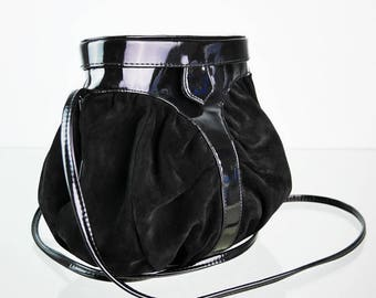 Vintage bag bag in wild and patent leather look