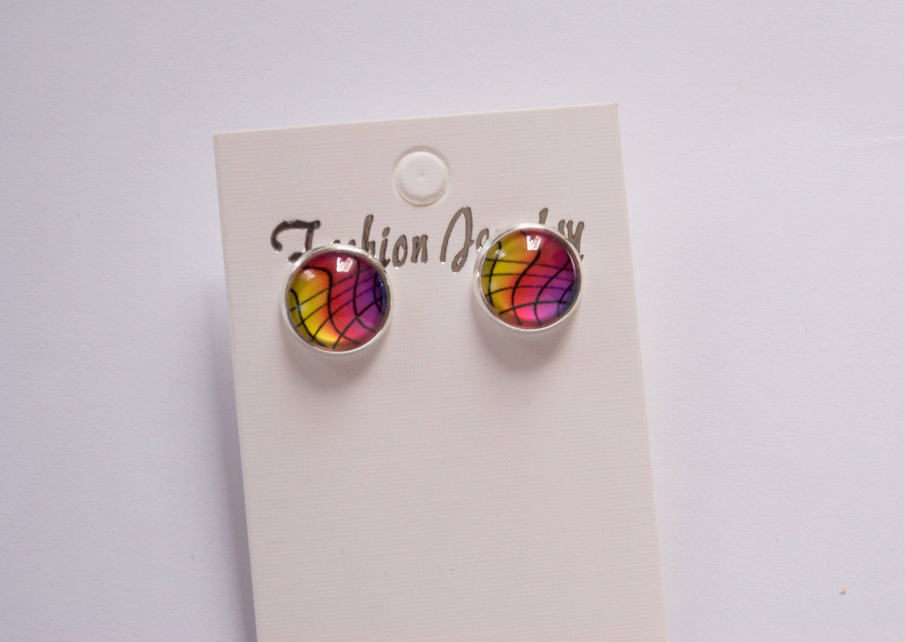 wine glass acs ros signature prep earrings enamel obsessed rose glitter by products studs stud
