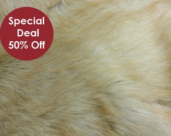 Faux Fur fabric – Camel - Faux Fur Animal - Long Pile Fur Soft and Comfy- Faux Fur Fabric by the meter/yard – AF7839