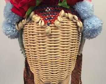 Gypsy East Pom Pom Flower Crown