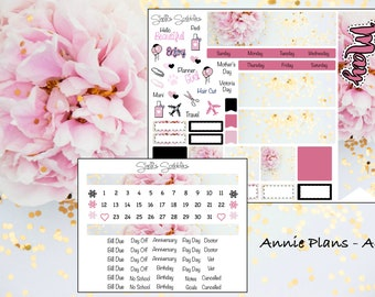 May Montly Kit - Annie Plans - A6
