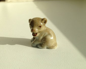 1950's Wade Whimsie Lion Cub from SET 8 1957-1961