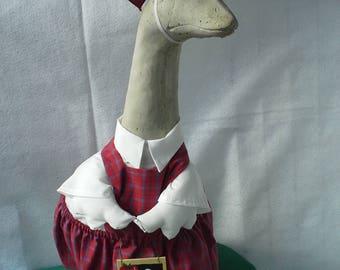 Schoolgirl for Large Goose
