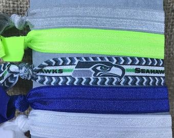 Seahawks Hair Ties