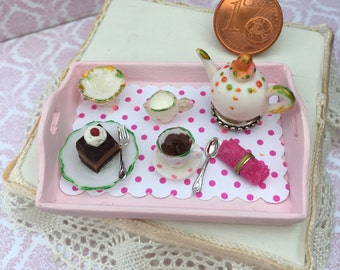 Tray for afternoon tea