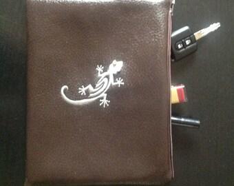 Embroidered clutch bag/handbag