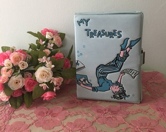 1950's Ponytail Vinyl Keepsake Box