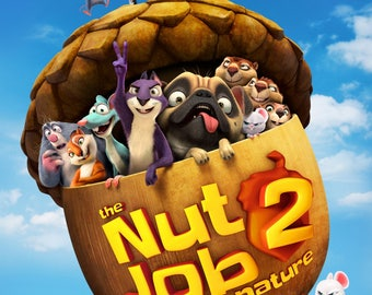 Nut Job 2 Nutty By Nature 11x17 Promo Movie POSTER