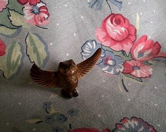 Vintage Bone China Miniature Owl
