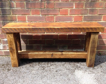 Wooden bench - handmade from beautiful reclaimed timber