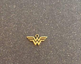 Wonder Woman logo charm