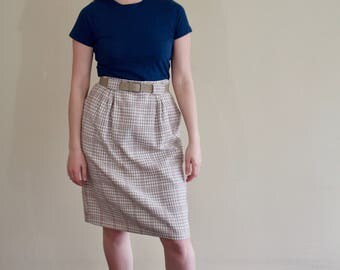 Vintage Worthington Tweed Wool Skirt